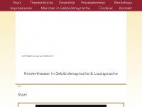 kindertheater-deaf5.de Webseite Vorschau