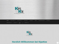 kipekee-sports.de Webseite Vorschau