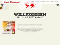 lolas-restaurant.ch Webseite Vorschau