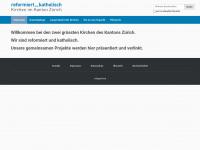 kirchen-zuerich.ch Webseite Vorschau