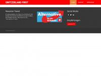 switzerland-first.ch Webseite Vorschau
