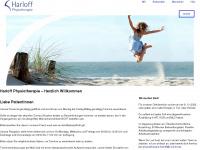 physiotherapie-harloff.de Webseite Vorschau