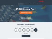 powerball.eu Webseite Vorschau