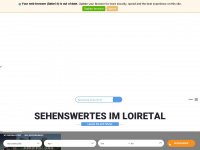 loiretal-frankreich.de Webseite Vorschau