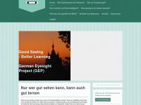 kinderbrillenmyanmar.de Webseite Vorschau