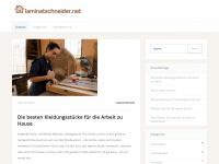 laminatschneider.net Webseite Vorschau