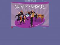 swingin-fireballs.de Webseite Vorschau