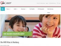 kita-awo-hamburg.de Webseite Vorschau