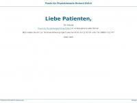 physio-ehlich.de Webseite Vorschau