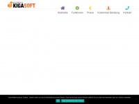 kigasoft.com Webseite Vorschau