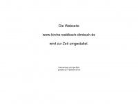 kirche-waldbach-dimbach.de Webseite Vorschau