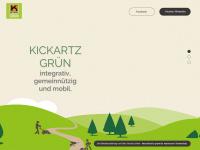 kickartz-gruen.de Webseite Vorschau