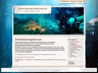 unterwasserproduktionen.de Thumbnail