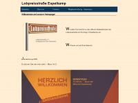 lobpreisstrasse-espelkamp.de Webseite Vorschau
