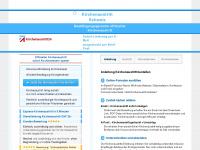 kirchenaustritt24.ch Webseite Vorschau