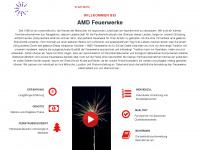 amd-feuerwerk.de Webseite Vorschau