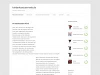 kinderkostuem-welt.de Webseite Vorschau