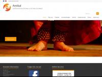 amikal.org Webseite Vorschau