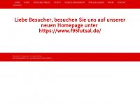 f95-futsal.de Webseite Vorschau