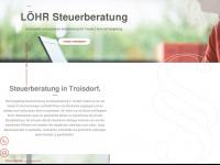 loehr-steuerberatung.de Webseite Vorschau