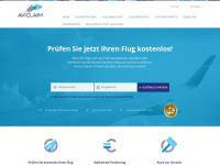 aviclaim.de Webseite Vorschau