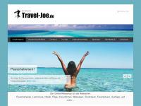 travel-joe.de Webseite Vorschau