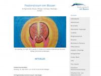 kircheamblauen.ch Webseite Vorschau