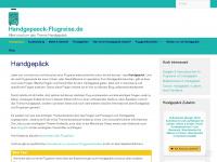 handgepaeck-flugreise.de