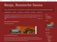 banja sauna russische sauna. Black Bedroom Furniture Sets. Home Design Ideas
