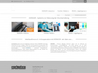 xsensor.de Webseite Vorschau