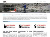 kinder--roller.com Webseite Vorschau