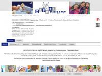 kindermoden-zappelphilipp.at Webseite Vorschau