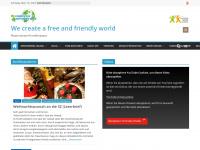 1centforpeace.de Webseite Vorschau