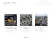 amphenol-automotive.de Webseite Vorschau