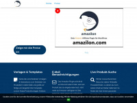 amazilon.com Webseite Vorschau