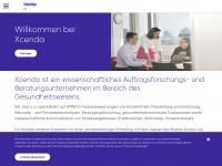 xcenda.de Webseite Vorschau