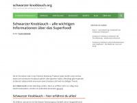 schwarzer-knoblauch.org Webseite Vorschau