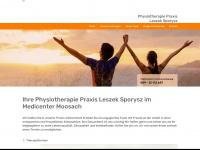 physiotherapie-moosach.de Webseite Vorschau