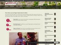 wannseewein.de Webseite Vorschau