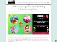 institute4languages.com Webseite Vorschau