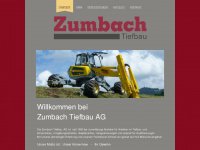 zumbachtiefbau.ch Thumbnail