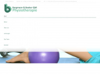 physiotherapie-issum.de Webseite Vorschau