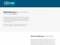 i2bdigital.com Webseite Vorschau