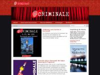 die-criminale.de Webseite Vorschau