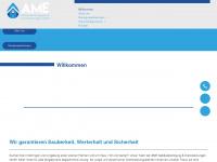 ame-gebaeudereinigung.de Webseite Vorschau