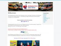 ambulanzteam-havelspree.de Webseite Vorschau