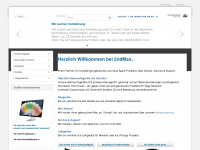 2ndmax.de Webseite Vorschau
