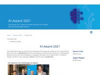 ki-award.at Webseite Vorschau