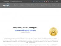deluxetoursegypt.com Webseite Vorschau