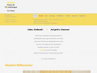 physiotherapie-in-odenthal.de Webseite Vorschau